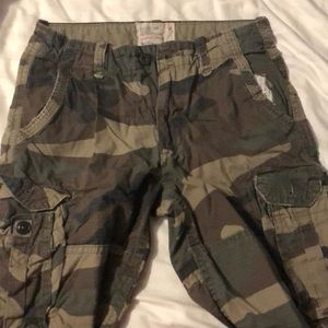American Eagle, classic length shorts, size 30
